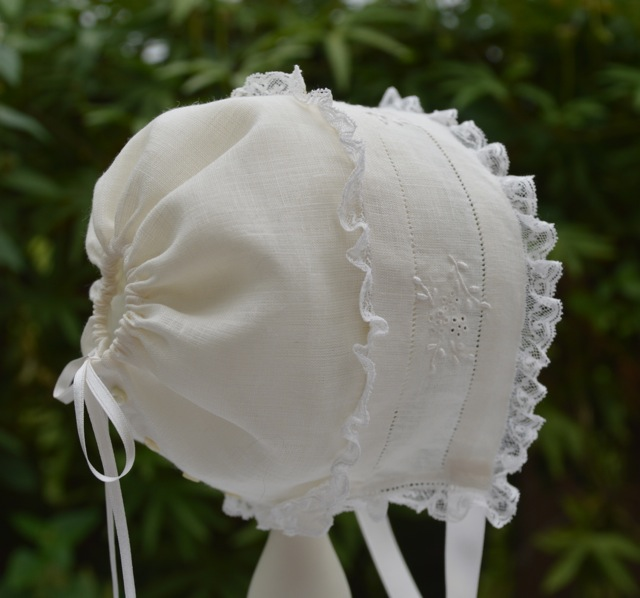 Miss Buford's Baby Bonnet Pattern