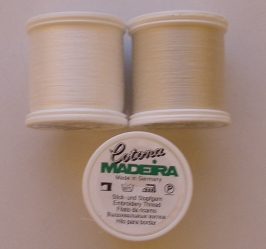Madeia #80 Sewing Thread Large Spool - Soft Ecru